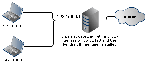 SoftPerfect Bandwidth Manager - Online user manual, Port Mapping