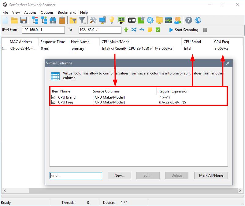 SoftPerfect Network Scanner Online Manual